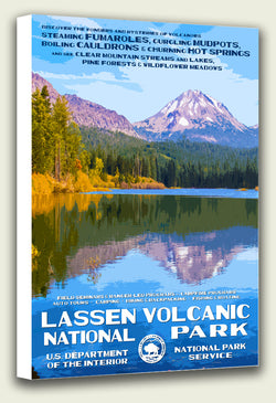 Lassen Volcanic National Park Canvas Print