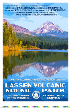 Lassen Volcanic National Park Artist Proof