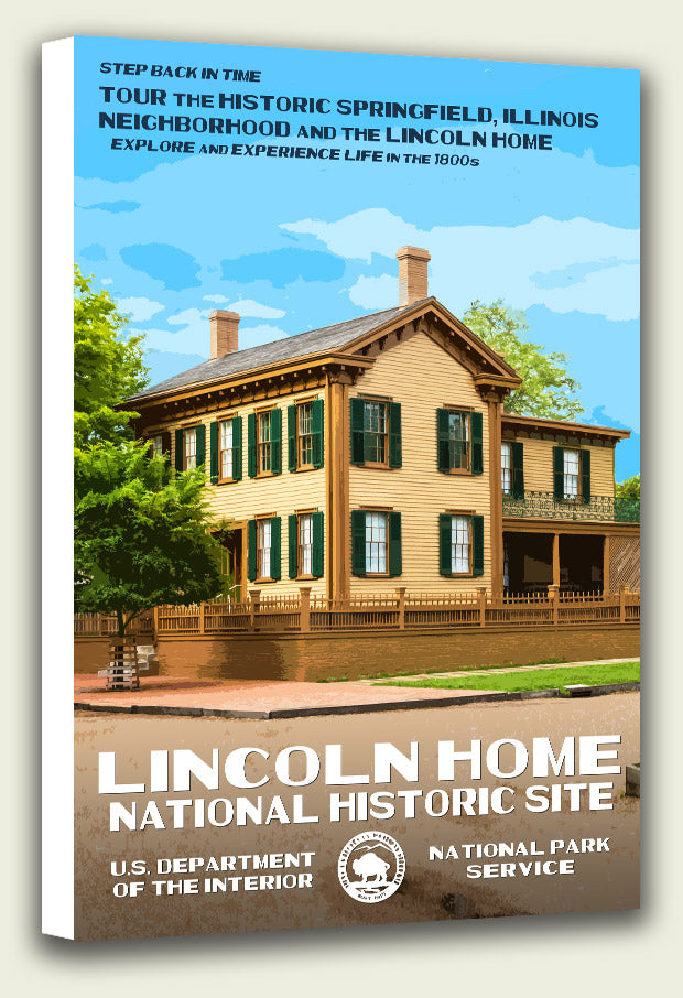 Lincoln Home National Historic Site Canvas Print