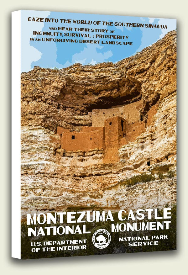 Montezuma Castle National Monument Canvas Print