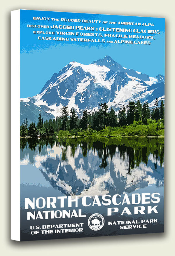 North Cascades National Park Canvas Print