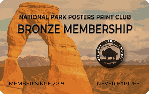 National Park Posters Print Club Membership