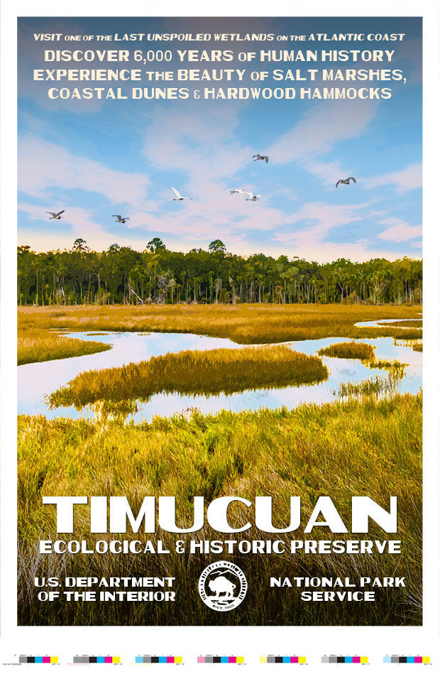 Timucuan Ecological & Historic Preserve Artist Proof