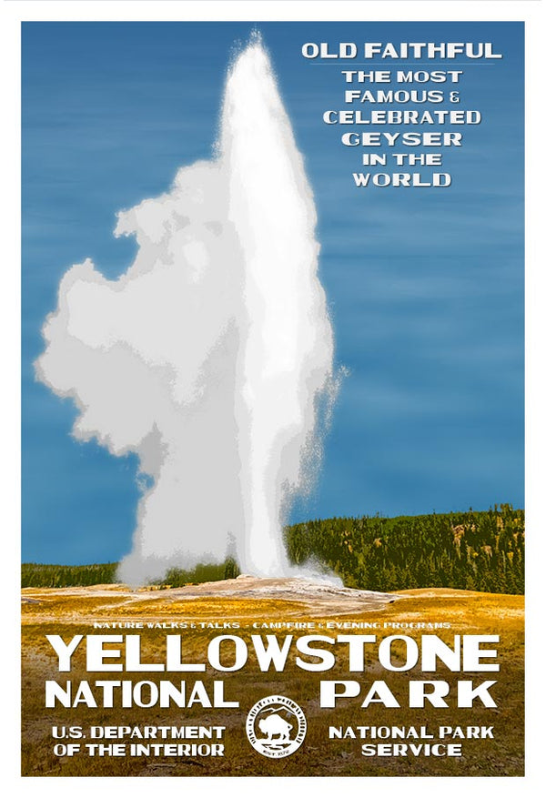 Yellowstone National Park, Old Faithful Geyser