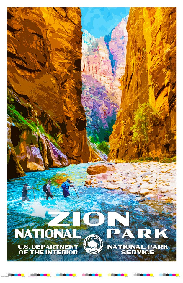 Zion National Park Artist Proof - The Narrows