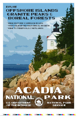 Acadia National Park Artist Proof