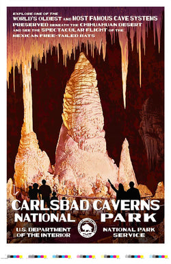 Carlsbad Caverns National Park Artist Proof