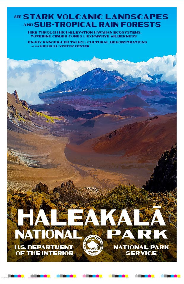 Haleakala National Park Artist Proof