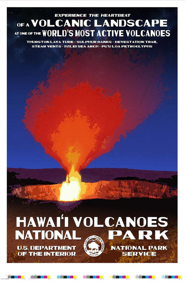 Hawaii Volcanoes National Park Artist Proof