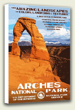 Arches National Park Canvas Print