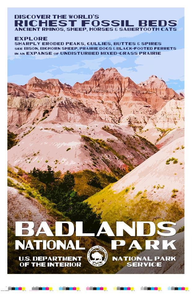 Badlands National Park Artist Proof