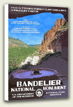 Bandelier National Monument Canvas Print