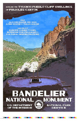 Bandelier National Monument Artist Proof