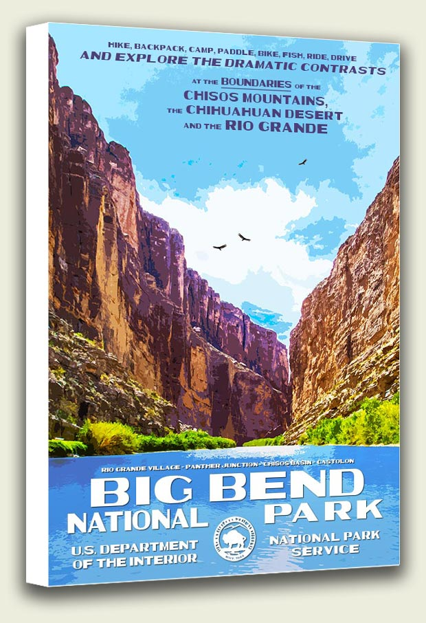 Big Bend National Park Canvas Print