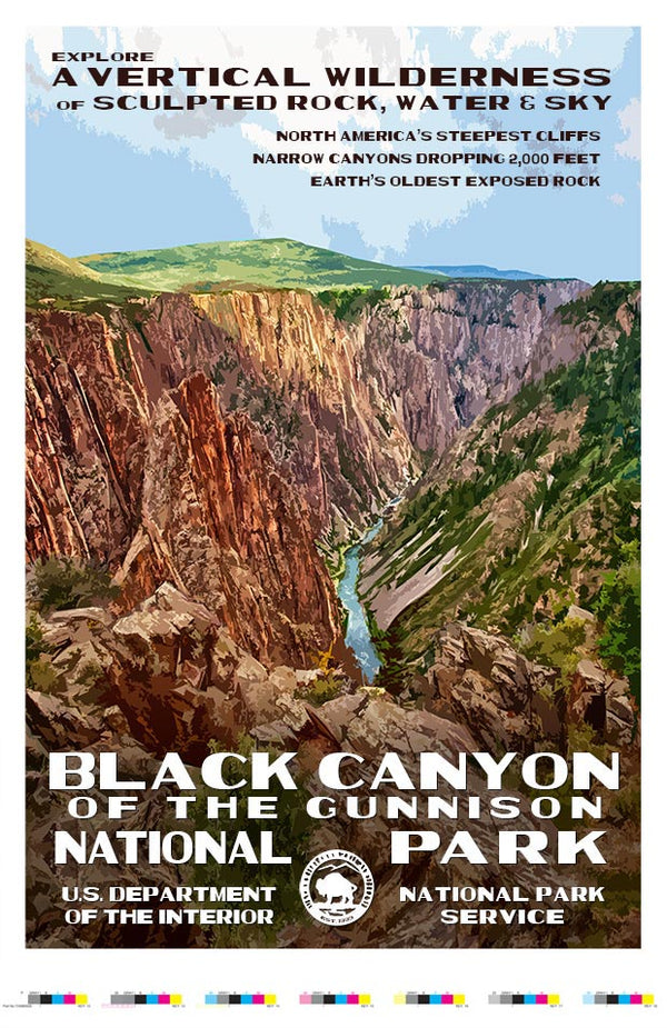 Black Canyon of the Gunnison National Park Artist Proof