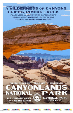Canyonlands National Park Artist Proof