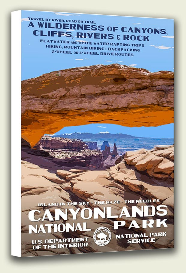 Canyonlands National Park Canvas Print