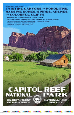 Capitol Reef National Park Artist Proof