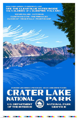 Crater Lake National Park Artist Proof