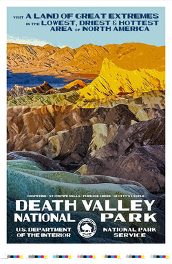 Death Valley National Park Artist Proof