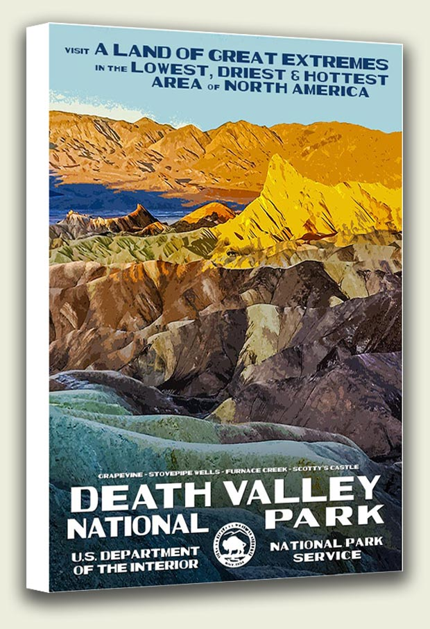 Death Valley National Park Canvas Print