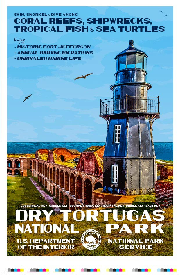 Dry Tortugas National Park Artist Proof