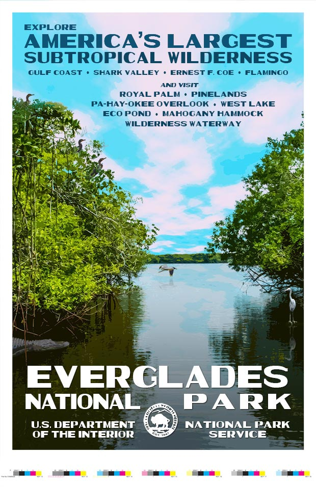 Everglades National Park Artist Proof