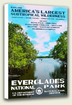 Everglades National Park Canvas Print