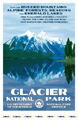 Glacier National Park Artist Proof