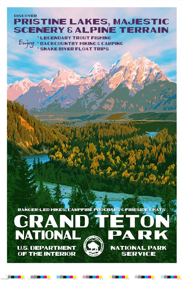 Grand Teton National Park Artist Proof - Snake River Overlook