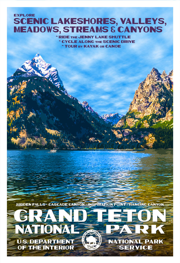 Grand Teton National Park, Jenny Lake