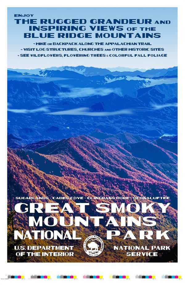 Great Smoky Mountains National Park Artist Proof