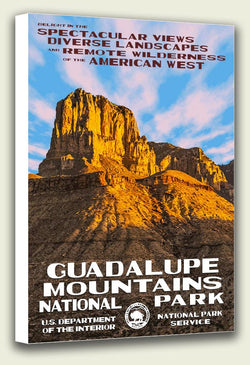 Guadalupe Mountains National Park Canvas Print