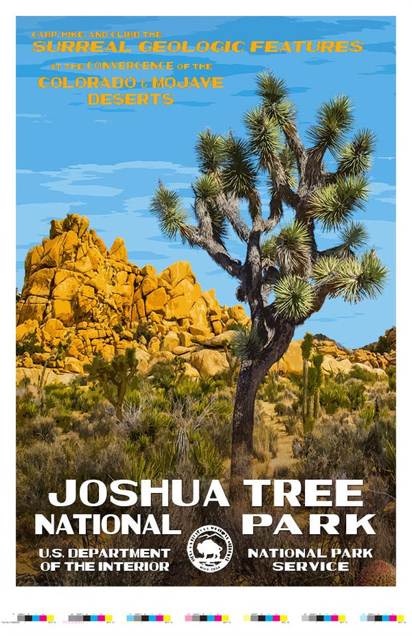 Joshua Tree National Park Artist Proof