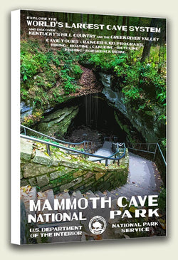Mammoth Cave National Park Canvas Print