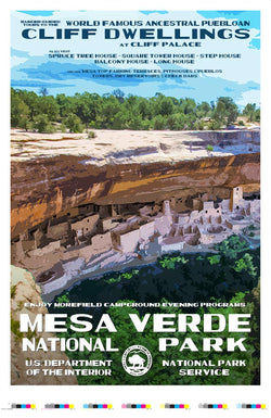 Mesa Verde National Park Artist Proof
