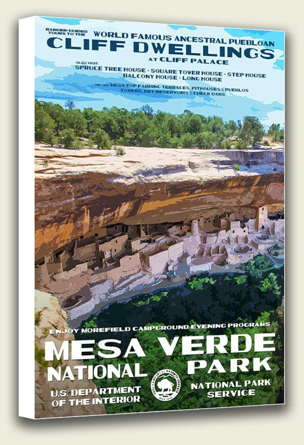 Mesa Verde National Park Canvas Print