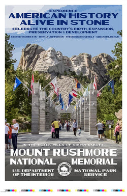 Mount Rushmore National Memorial Artist Proof