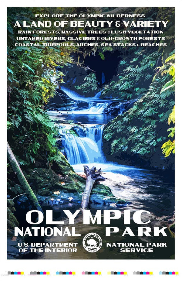 Olympic National Park Artist Proof