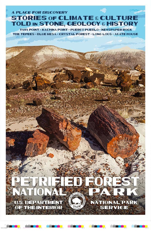 Petrified Forest National Park Artist Proof