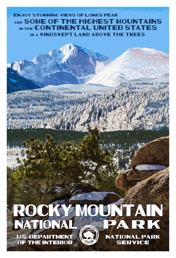Rocky Mountain Longs Peak
