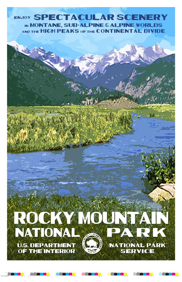 Rocky Mountain (Moraine Park) Artist Proof