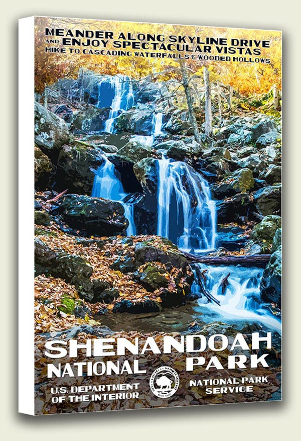 Shenandoah National Park Canvas Print