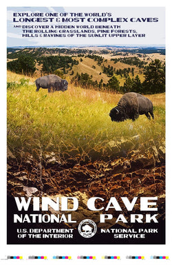 Wind Cave National Park Artist Proof