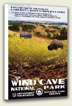 Wind Cave National Park Canvas Print