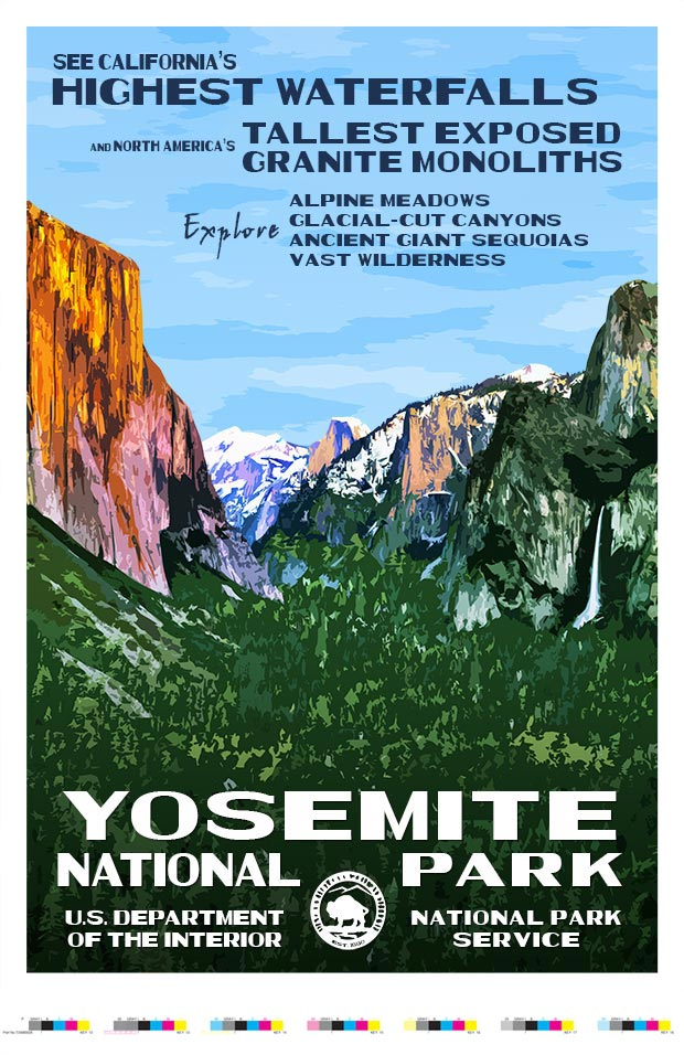 Yosemite National Park Artist Proof