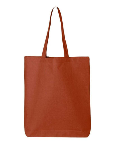 11-7l-economical-gusseted-tote-Orange-Oasispromos