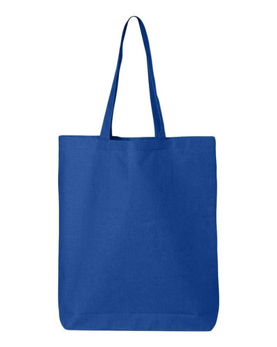 11-7l-economical-gusseted-tote-Royal Blue-Oasispromos
