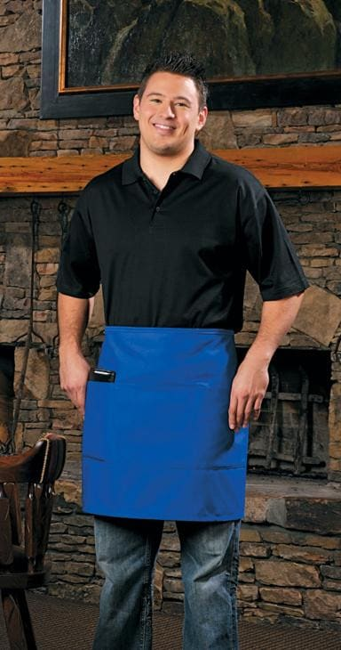 Three Pocket Half-Bistro Apron	DS-113