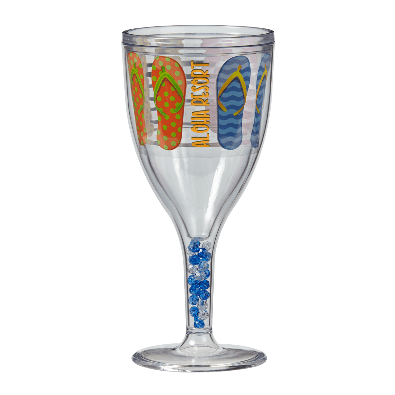 12 oz. Double-Wall Wine Glass - Oasis Promos